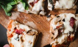 How to make a Garlic Mushroom Pizza