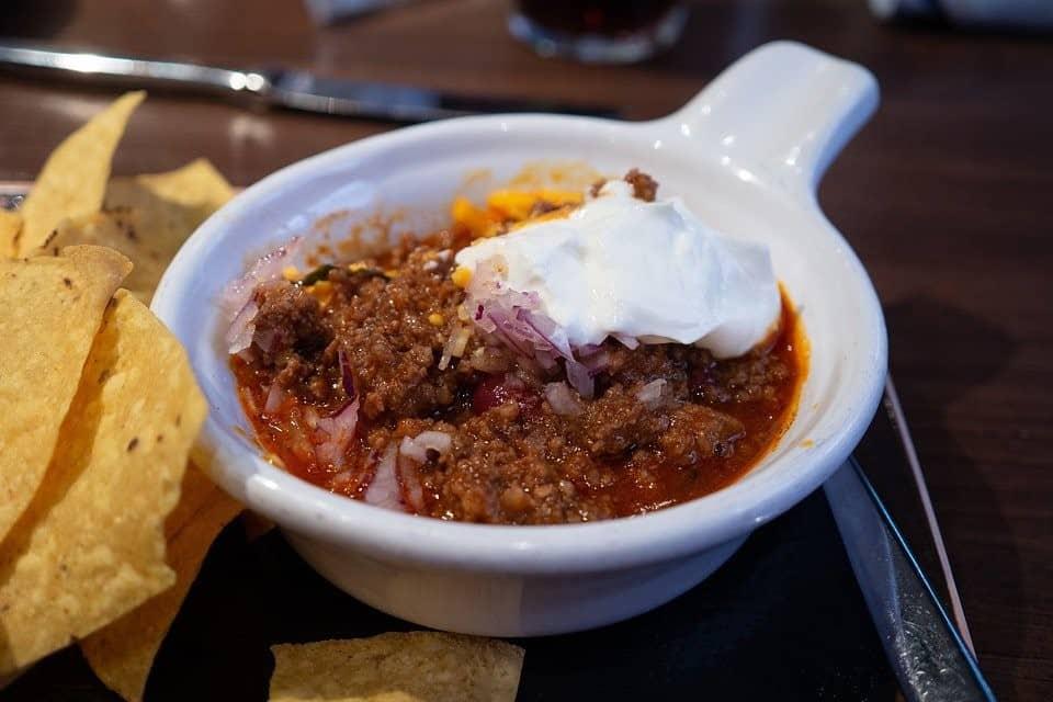 instant pot beef chilli