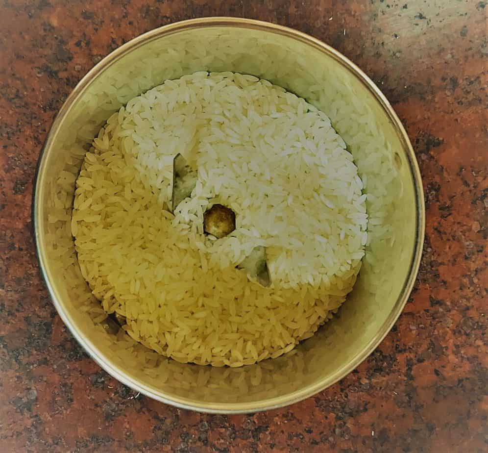 rice used in dosa batter