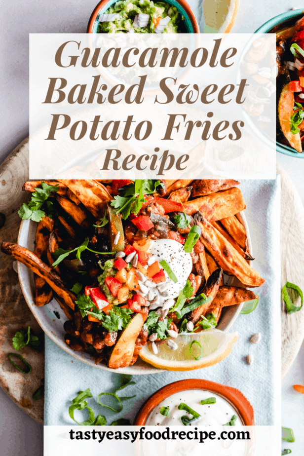 guacamole-and-baked-sweet-potato-fries