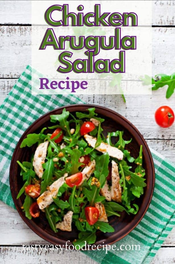 chicken-arugula-salad